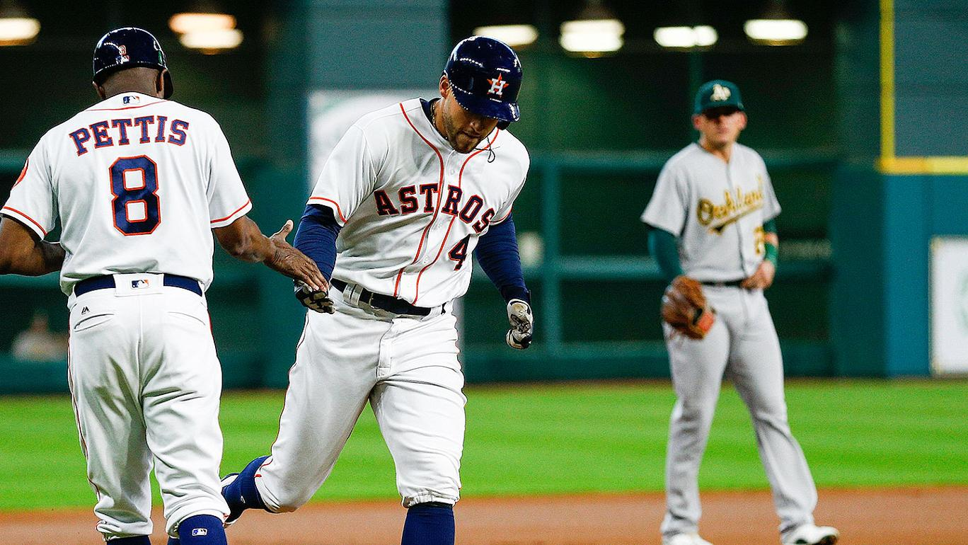 17 rebatidas e vitória do Houston Astros