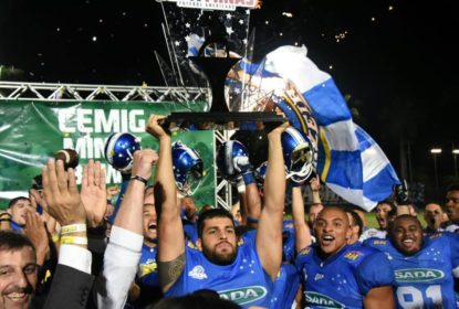 Federação Mineira apresenta o campeonato estadual de futebol americano - The Playoffs