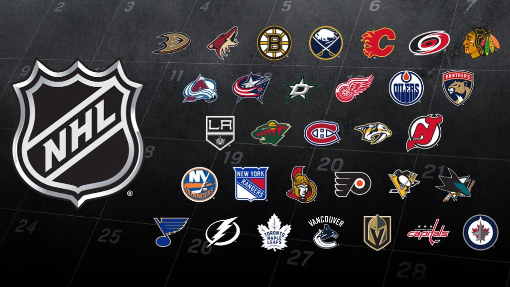 Divulgada a tabela da temporada 2017-2018 da NHL » The Playoffs aba91f195da9d