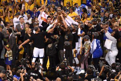 Golden State Warriors quase sofreu surto de meningite antes dos playoffs de 2017 - The Playoffs