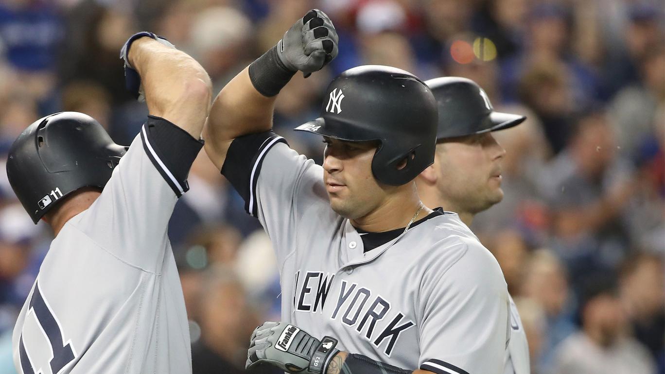 Com dois home runs de Gary Sanchez, Yankees atropelam Blue Jays