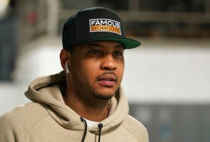 Agentes de Carmelo Anthony buscam apagar imagem ruim do jogador - The Playoffs
