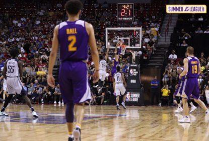 Lakers vencem Mavs e avançam à final da Summer League de Las Vegas; Lonzo sai machucado - The Playoffs