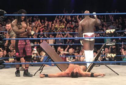 DeAngelo Williams vence em estreia no wrestling e protagoniza cena engraçada - The Playoffs