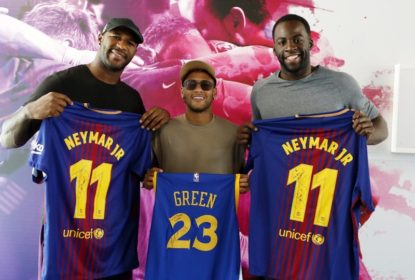 Draymond Green visita Neymar em Barcelona - The Playoffs