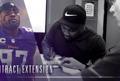 Minnesota Vikings assina com Everson Griffen por mais quatro anos - The Playoffs