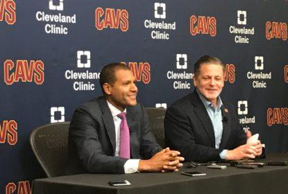 Cleveland Cavaliers apresenta novo general manager e desconversa sobre Kyrie Irving - The Playoffs
