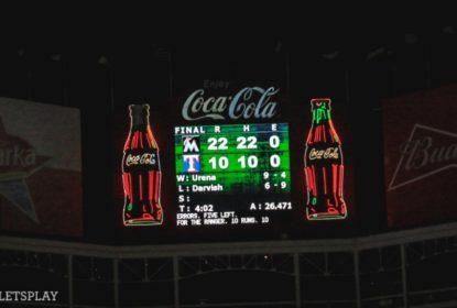 Yu Darvish vai mal e Marlins atropelam Rangers - The Playoffs