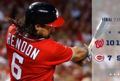 Rendon bate 2 home runs e Nationals vencem Reds - The Playoffs
