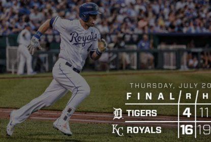Brandon Moss brilha e Royals fazem 16 a 4 nos Tigers - The Playoffs