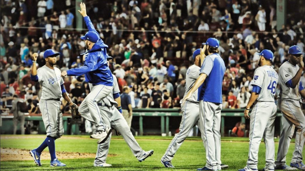 Royals vencem Red Sox e chegam ao nono triunfo seguido
