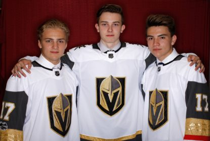 Vegas Golden Knights acerta contrato com trio da primeira rodada do Draft 2017 - The Playoffs