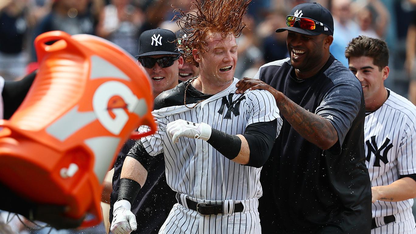 Yankees vencem Brewers com walk-off HR de Clint Frazier