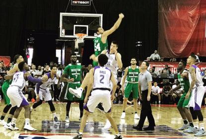 Tatum lidera Celtics em vitória sobre Lakers de Ball na Summer League de Las Vegas - The Playoffs