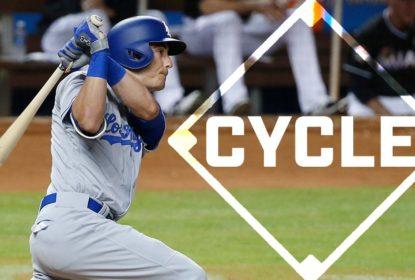 Com ciclo de Cody Bellinger, Dodgers batem os Marlins fora de casa - The Playoffs