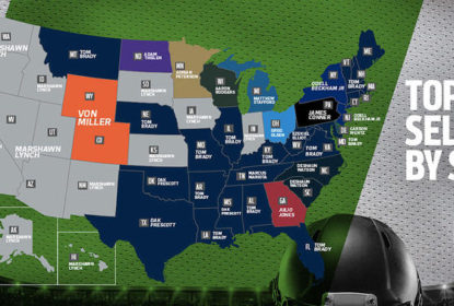 Camisa de Lynch é a mais vendida em 14 estados americanos - The Playoffs