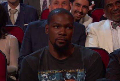 Peyton Manning faz piada com Kevin Durant