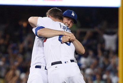 Dodgers vencem Giants com rebatida de walk-off do novato Kyle Farmer - The Playoffs