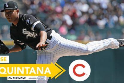 Bomba em Chicago! Cubs e White Sox acertam troca de Jose Quintana - The Playoffs