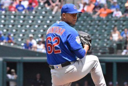 José Quintana, dos Cubs, passa por cirurgia após lesão lavando louça - The Playoffs