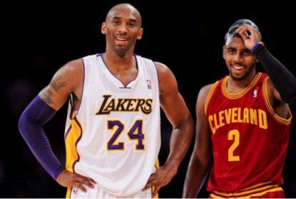 Kyrie Irving quer que Kobe Bryant seja o novo logo da NBA - The Playoffs