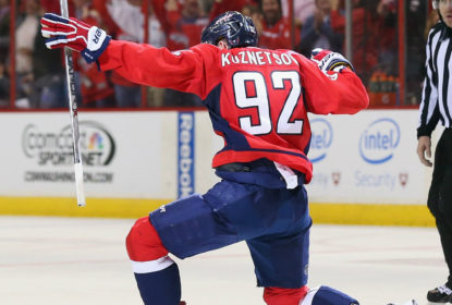 Evgeny Kuznetsov renova com o Washington Capitals - The Playoffs