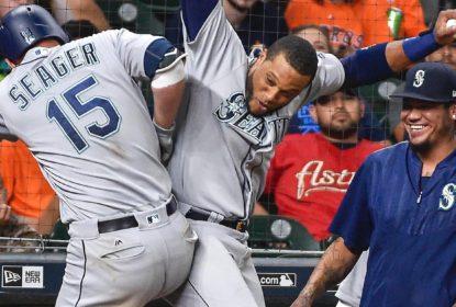 Fora de casa, Mariners supreendem Astros em dez entradas - The Playoffs