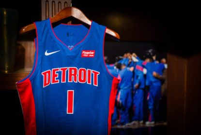 Detroit Pistons revela nova camisa da Nike com patrocinador - The Playoffs