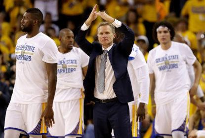 Fora dos playoffs da NBA, Steve Kerr decreta 'fim da temporada para os Warriors' - The Playoffs