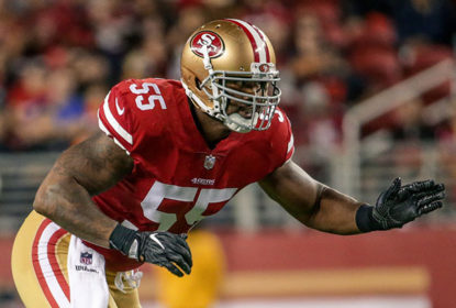 San Francisco 49ers dispensam o linebacker Ahmad Brooks - The Playoffs