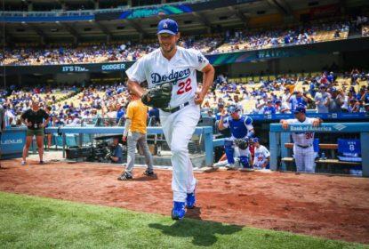 Clayton Kershaw está perto de retorno aos Dodgers, diz técnico - The Playoffs