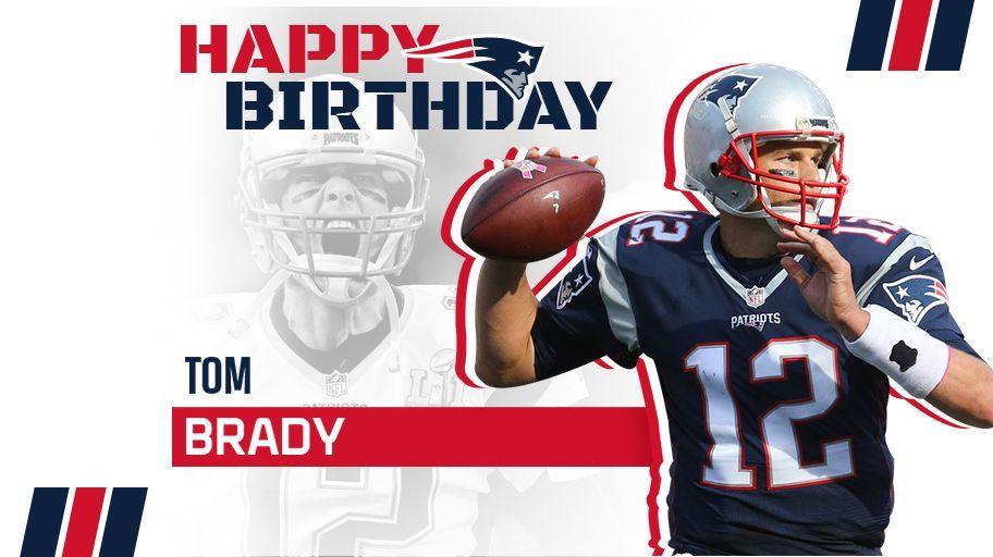 Feliz Aniversário, Tom Brady!