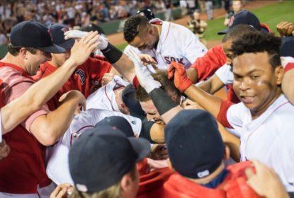Red Sox batem Indians com walk-off HR de Christian Vazquez - The Playoffs