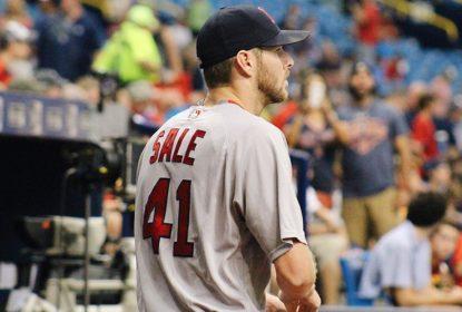 Chris Sale dá show e Red Sox vencem Rays por 2 a 0 - The Playoffs