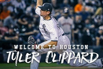 Houston Astros adquire Tyler Clippard do Chicago White Sox - The Playoffs