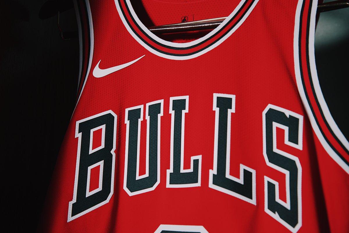 Uniforme Nike dos Bulls