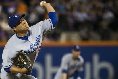 Hyun-Jin Ryu brilha e Dodgers atropelam Mets em pleno Citi Field - The Playoffs