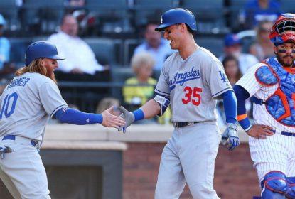 Los Angeles Dodgers vence New York Mets, em jogo com nove home runs - The Playoffs