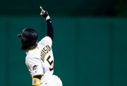 Harrison frustra no-hitter de Rich Hill e Pirates vencem Dodgers - The Playoffs