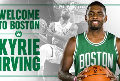 Kyrie Irving é jogador do Boston Celtics