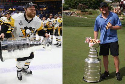 Phil Kessel, cachorro quente e a Stanley Cup: astro dos Penguins faz a festa com a taça - The Playoffs