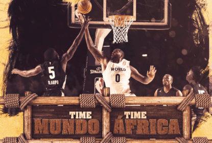 Time Mundo vence Time África em jogo de exibição na África do Sul - The Playoffs