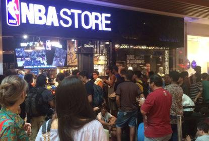 NBA Store anuncia unidades no estado de São Paulo - The Playoffs