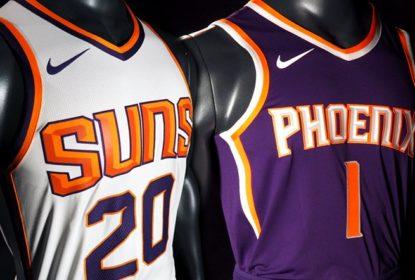 Uniforme Nike dos Suns