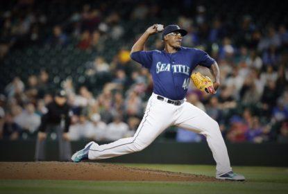 Com atuação consistente e quase bolada, Thyago Vieira estreia na MLB pelos Mariners - The Playoffs