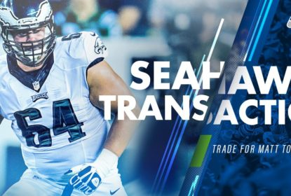 Seattle Seahawks adquire offensive tackle Matt Tobin via troca - The Playoffs