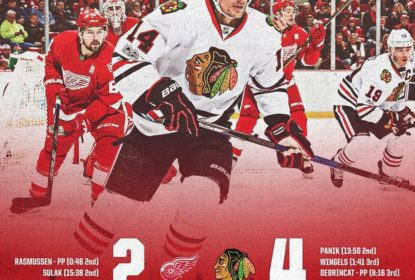 Com show de DeBrincat, Blackhawks vencem Red Wings - The Playoffs
