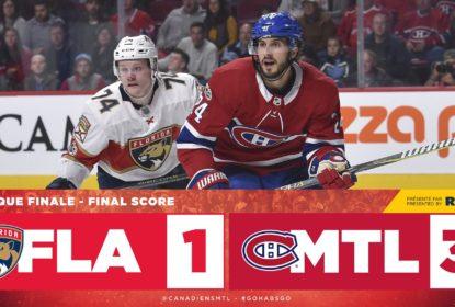 Com dois gols de Paul Byron, Canadiens derrotam Panthers - The Playoffs