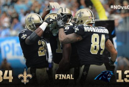 Com show de Drew Brees, Saints vencem Panthers - The Playoffs