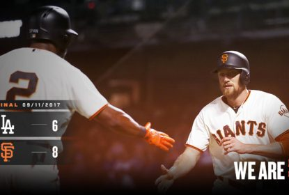 Los Angeles Dodgers cai para San Franciso Giants e acumula 11 derrotas seguidas - The Playoffs
